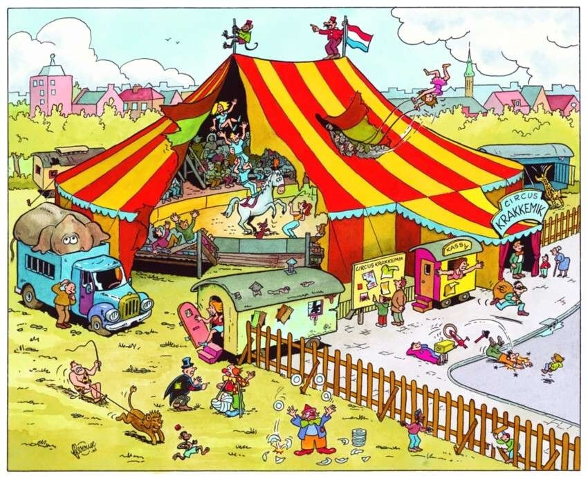 Image result for Image of a Circus